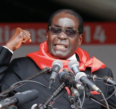Robert Mugabe has been sacked from his role as leader of ruling party Zanu-PF