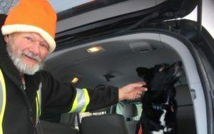 """Saint Nick"" Delivers Family's Missing Dog Home In Time For Christmas"