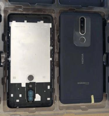Image of 3-step assembly of a new Nokia smartphone leak in China