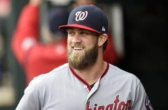 Nationals agree to terms with Harper for 2018 season