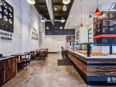 Doughnuts and Fried Chicken - a Perfect Combination at Astro in Downtown L.A