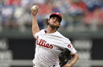 Nola strikes out 11, pitches Phillies past Mets 4-2