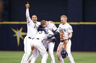 Rays take care of Tigers after Daniel Robertson hits walk-off single in 10th