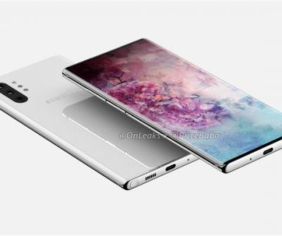 Fresh render gives us the clearest look at Samsung Galaxy Note 10