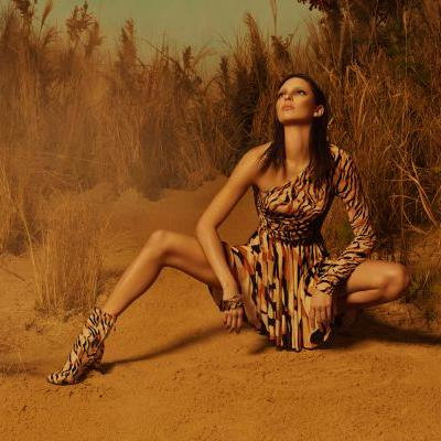 Kendall Jenner Stars In The New Roberto Cavalli Campaign