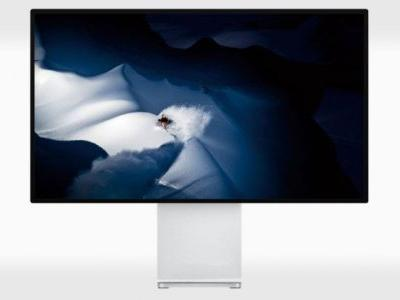 Apple Pro Display XDR is the Largest Retina Screen Ever: 32″ 6K for $5K