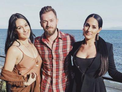 Aww! Artem Chigvintsev Spends Time With Nikki and Brie Bella: 'Good Food, Gorgeous Company'