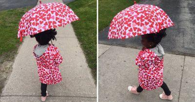 Three-year-old Zuri-Sanaa is swiftly becoming a fashion icon all on her own