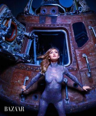 Gigi Hadid's Space OdysseyHell-bent on reaching for the stars