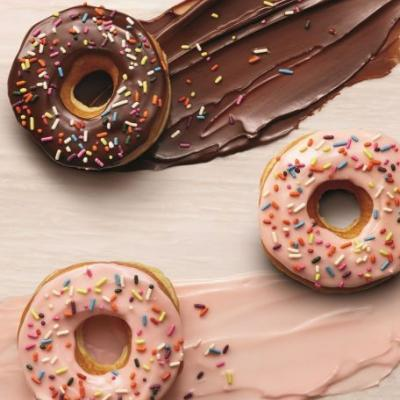 To Ring in the New Year, Dunkin' Donuts Removes Artificial Dyes from Donuts