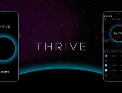 Galaxy Note 8 gets Thrive app to help users manage their time