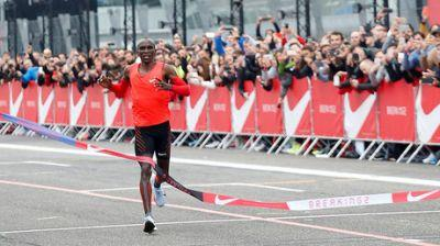 Breaking2: Kenyan runner comes agonizingly close to sub 2-hour marathon