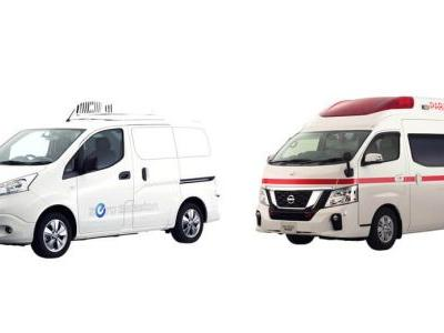 Nissan Reveals Two More Concepts For Tokyo, The e-NV200 Fridge And NV350 Paramedic