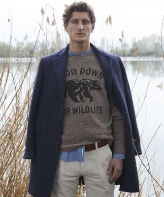 Chris Beek Embraces Rugged Fall '19 Style from Brooksfield