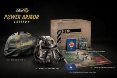 Fallout 76 Power Armor Buyers Could Have a Six-Month Wait for Canvas Bag Replacements