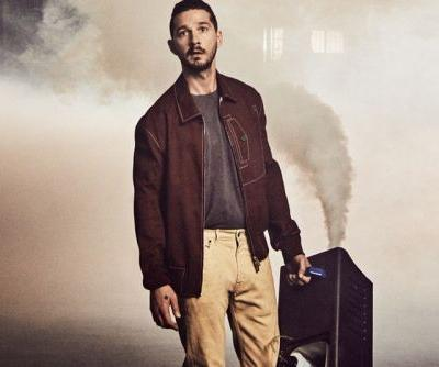 Shia LaBeouf Reveals He Donated Clothes to Kanye West