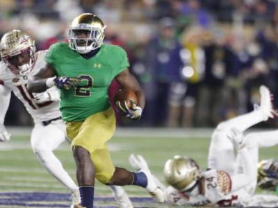 College football scores, schedule, games today: Notre Dame crushes Florida State, LSU bounces back