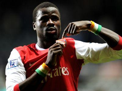 Ex-Arsenal man Eboue angling for Premier League return as he visits London