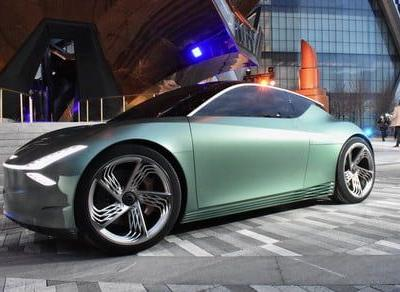 Genesis' all-electric Mint concept proves small cars can still be stylish