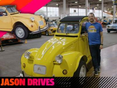 The Citroën 2CV Makes A Great Joke Car When You Divide It By Two