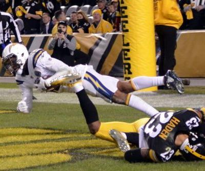 Chargers WR Keenan Allen dealing with hip pointer