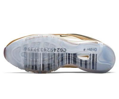 Nike Gives the Air Max 97 a Barcode Outsole