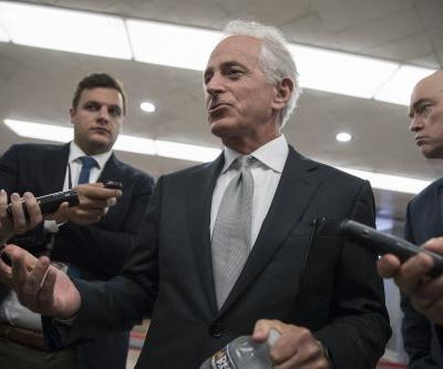 Few Republicans want to talk about Corker's Trump comments
