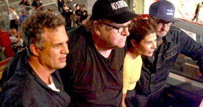 Trump Tower Protest Led by Mark Ruffalo, Olivia Wilde, Michael Moore and More