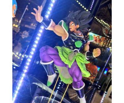 Broly Character Design for Upcoming 'Dragon Ball Super: Broly' Film Surface