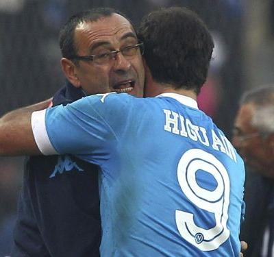 Sarri: How I got the best out of Chelsea target Higuain at Napoli