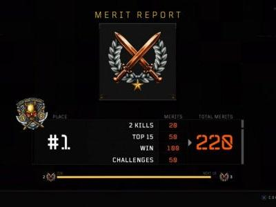 Black Ops 4: Blackout Challenges, tiers, echelons and how to earn merits