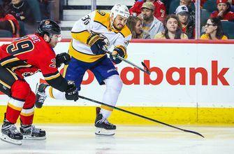 Zac Rinaldo's goal gets Predators redemption win over Flames