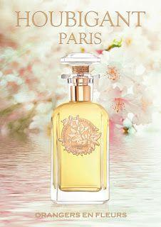 So You Want to Smell Like the Goddess of Spring : Orangers en Fleurs Pure Parfum by Houbigant