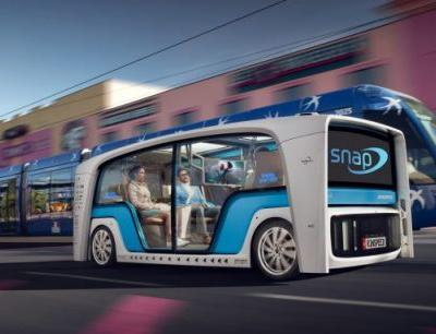 "Kiss Me, I'm in an Autonomous Car: Rinspeed Snap Concept Is for ""Cuddling"""