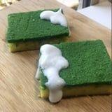 This Cake Looks Exactly Like a Soapy Dish Sponge, and We Really Don't Know How to Feel