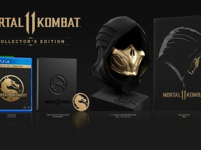 Mortal Kombat 11: Kollector's Edition features 1:1 replica of Scorpion's mask