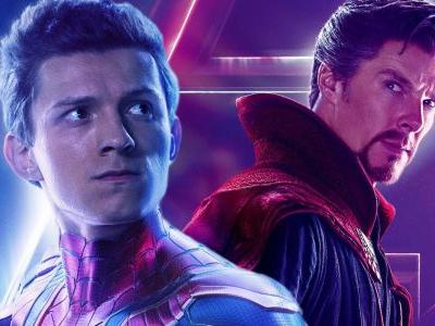 Infinity War Concept Art Shows Spider-Man And Doctor Strange Fighting Outriders
