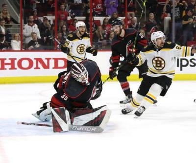 Bruins punch ticket to Stanley Cup final by sweeping Hurricanes