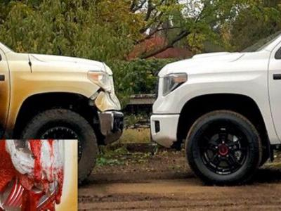 Toyota Delivers Wildfire Hero Nurse's Tundra Replacement