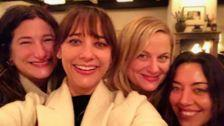 Amy Poehler And 'Parks And Recreation' Cast Reunite For Galentine's Day
