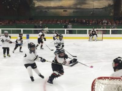 Fire-ravaged California city turns to hockey for respite