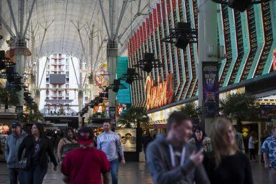 Downtown Las Vegas leads Nevada gaming markets in percentage increase, new report notes