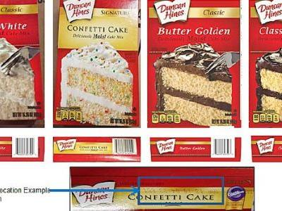 Salmonella Fear Spurs Duncan Hines Cake Mix Recall