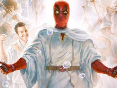 Once Upon A Deadpool Poster Gets Heavenly With Fred Savage