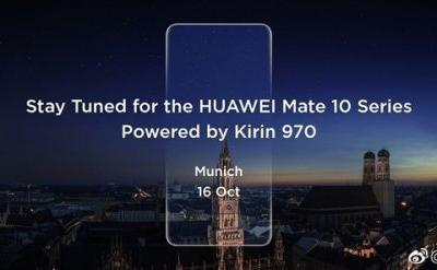 Huawei Mate 10, Mate 10 Pro Confirmed for October 16th Debut, With Kirin 970 Processor Inside