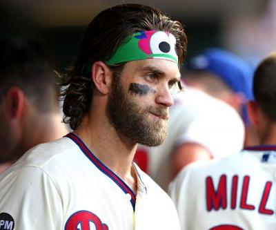 How Bryce Harper is coping with the Nationals' World Series run