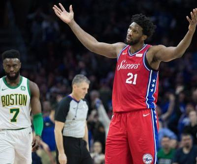 Joel Embiid after 76ers' loss to Celtics: 'Referees sucked'