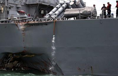 Navy proposes more sleep, training for sailors after 'avoidable' ship collisions
