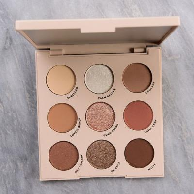 ColourPop Going Coconuts Eyeshadow Palette Review & Swatches