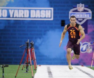 Andy Isabella, Randy Moss' 5-9 protégé, ties for top 40 time at NFL combine after clarification